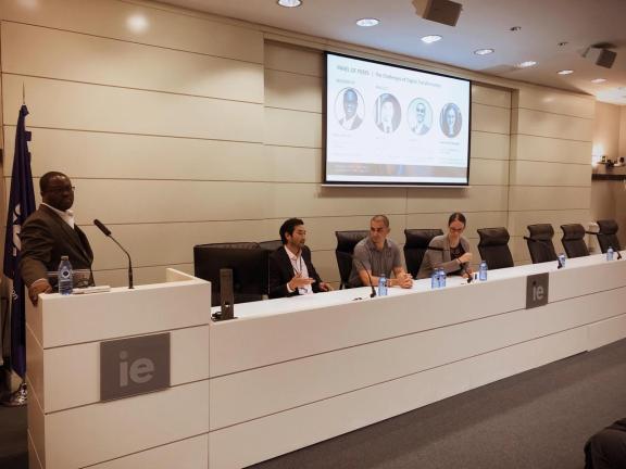 IE Business School Digital Transformation Panel